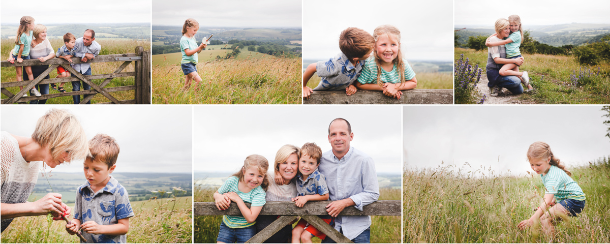 Summer mini sessions in a camomile field!