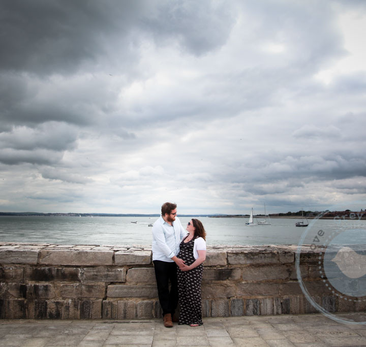 FEATURED ALBUM - Pop and Dani's Maternity Session in Old Portsmouth. Featured Album