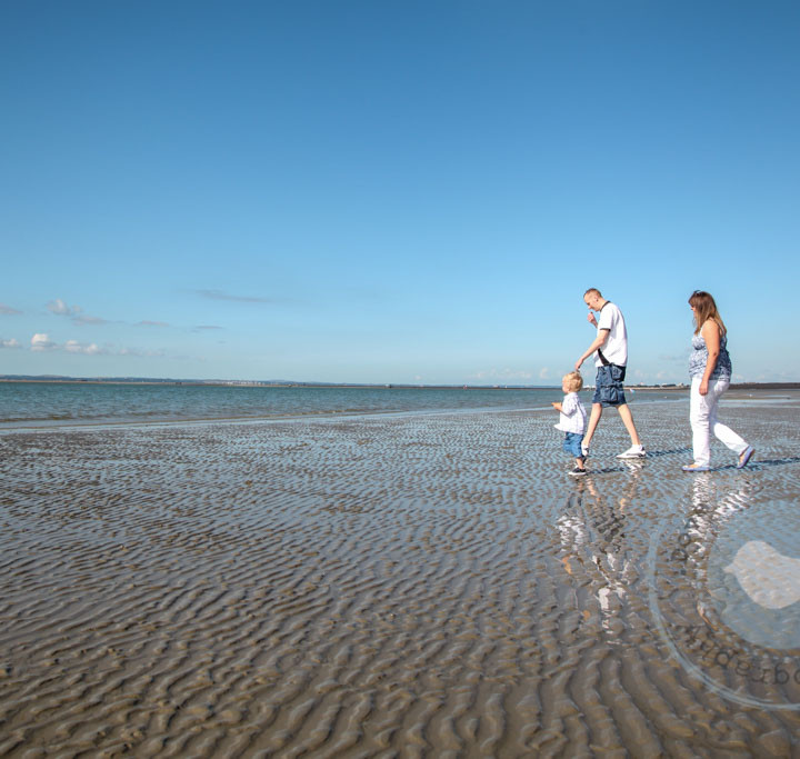 Dave, Liane and Joey - Family Porttrait Session - Hayling Island.