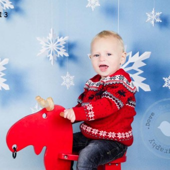 Seth's Christmas Photoshoot - Hampshire Children's Photography
