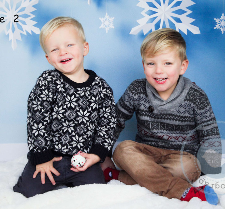 Charlie and Isaac's Christmas Photoshoot - Hampshire