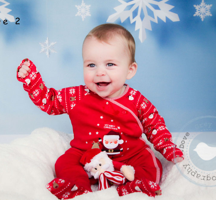 Lucas' Christmas Photoshoot - Hampshire