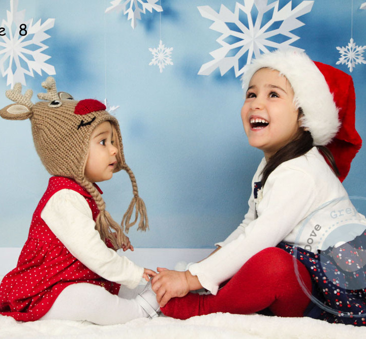 Zarah and Maiya's Christmas Photoshoot - Hampshire