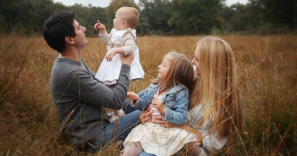 Autumnal Family Photoshoot - Petersfield