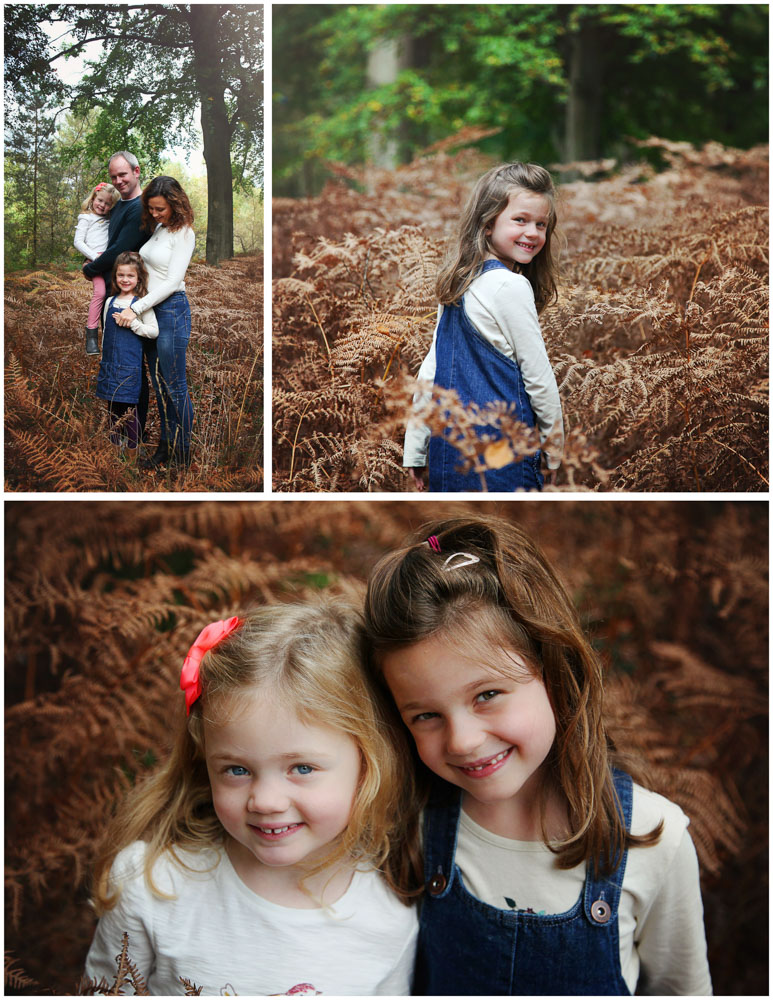 Relaxed family photoshoot in the woods.  Hampshire (1)