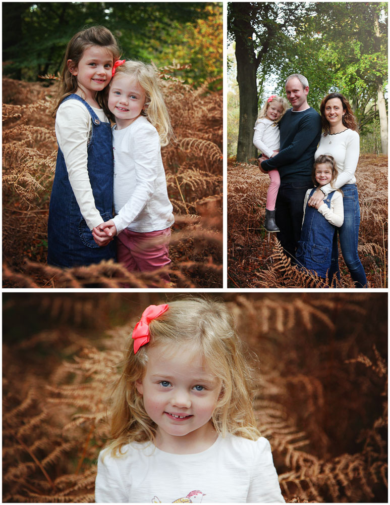 Relaxed family photoshoot in the woods.  Hampshire (2)