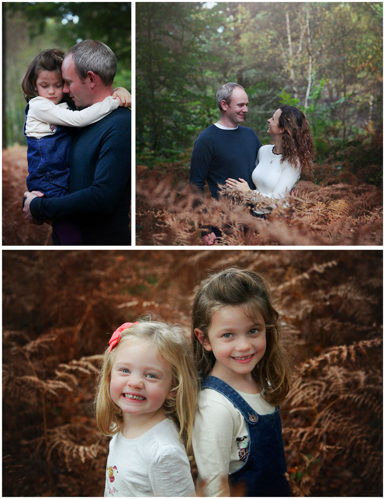 Relaxed family photoshoot in the woods.  Hampshire (4)