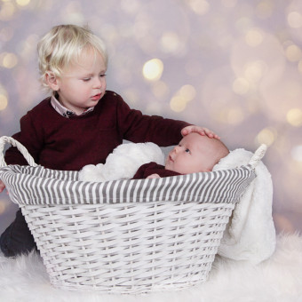Seth and Caleb's Christmas Mini Session