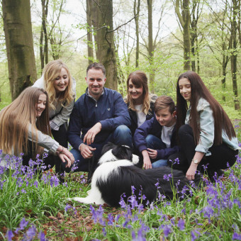 Family Walk in The Woods - Winchester, Hampshire