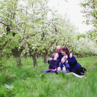 Pear Blossom Family Photoshoot - Hampshire
